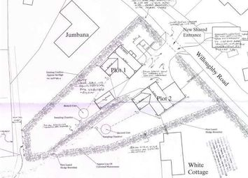 Thumbnail Land for sale in Land Adjacent To White Cottage, Willoughby Road, Cumberworth, Alford