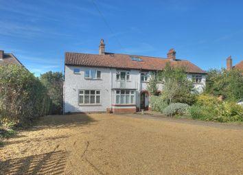 Thumbnail 4 bed semi-detached house for sale in Poplar Avenue, Norwich