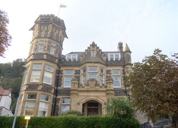 Thumbnail 2 bed flat to rent in 8 Bodlondeb Castle, Church Walks, Llandudno.
