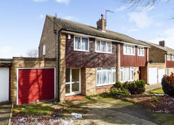Thumbnail 3 bed semi-detached house for sale in Beechings Way, Gillingham