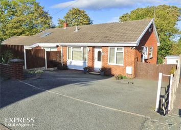 Thumbnail 2 bed semi-detached bungalow for sale in Hall View, Caego, Wrexham