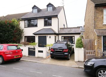 Thumbnail 4 bed detached house for sale in Field Lane, Teddington