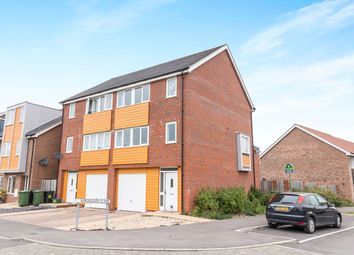 Thumbnail 4 bed semi-detached house for sale in Hargreaves Close, Basingstoke