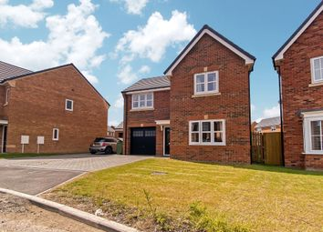 Thumbnail 3 bed detached house for sale in Barbary Way, Cramlington