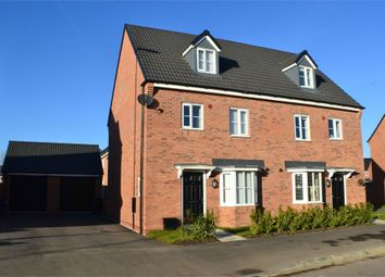 Thumbnail 4 bed semi-detached house for sale in Amber Way, Burbage, Hinckley, Leicestershire