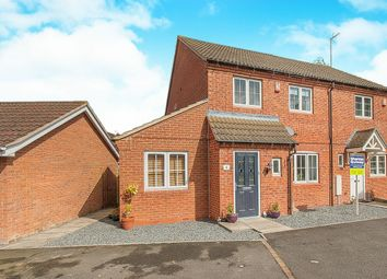 Thumbnail 3 bed semi-detached house for sale in Sandhurst Road, Hampton Vale, Peterborough