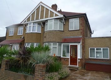 Thumbnail 4 bed semi-detached house for sale in Cheyne Avenue, Whitton, Twickenham