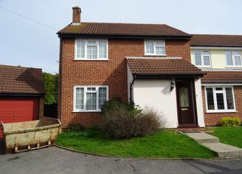 Thumbnail 4 bed link-detached house to rent in Connaught Way, Billericay