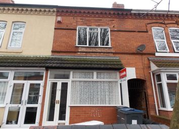 Thumbnail 2 bedroom terraced house for sale in Pretoria Road, Bordesley Green, Birmingham