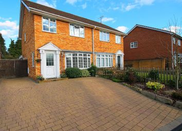 Thumbnail 3 bedroom semi-detached house for sale in Kingsmead, Frimley Green, Camberley