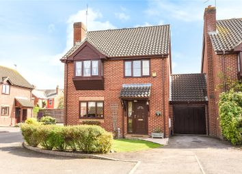 Thumbnail 4 bed link-detached house to rent in Davis Gardens, College Town, Sandhurst, Berkshire