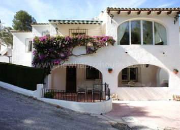 Thumbnail 5 bed link-detached house for sale in El Portet, Moraira, Alicante, Valencia, Spain