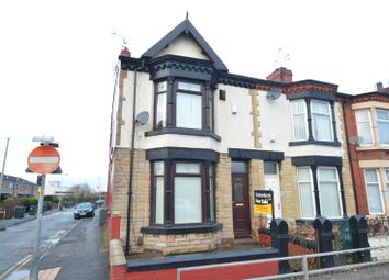 Thumbnail 4 bed end terrace house for sale in Hawthorne Road, Bootle