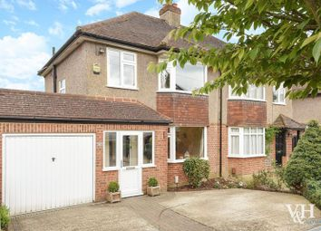 Thumbnail 4 bedroom semi-detached house for sale in Oaks Close, Leatherhead
