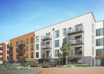 Thumbnail 2 bed flat for sale in Allerton Apartments At Kings Park, 1A St Clements Avenue, Harold Wood, Romford, Essex
