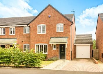 Thumbnail 3 bed end terrace house for sale in Hawkstone Close, Kidderminster, Worcestershire
