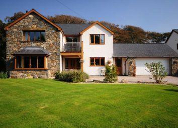 Thumbnail 3 bed detached house for sale in Llwyngwril, Gwynedd