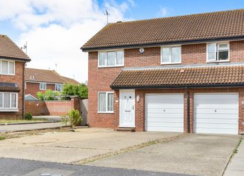 Thumbnail 4 bed semi-detached house for sale in Waterlow Close, Newport Pagnell
