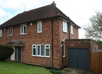 Thumbnail 3 bed semi-detached house to rent in Verbena Road, Northfield, Birmingham