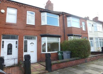 Thumbnail 3 bed terraced house to rent in Gorsefield Road, Birkenhead