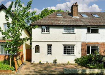 Thumbnail 3 bed semi-detached house for sale in Wiggie Lane, Redhill