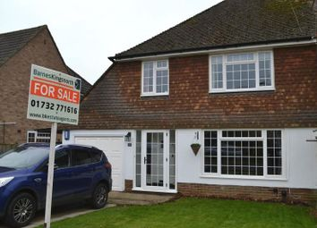 Thumbnail 3 bed semi-detached house for sale in Sullivan Road, Tonbridge