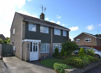 Thumbnail 3 bed semi-detached house for sale in Stavanger Close, Corby, Northamptonshire