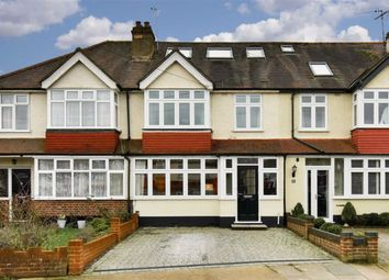 Thumbnail 4 bed terraced house for sale in Station Avenue, Ewell, Surrey