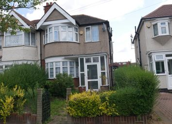 Thumbnail 3 bed semi-detached house to rent in Lynton Road, Harrow