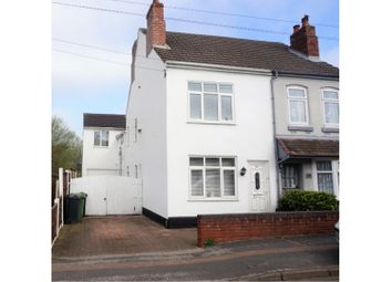 Thumbnail 4 bed semi-detached house for sale in Friezland Lane, Walsall