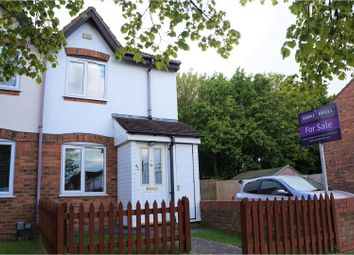 Thumbnail 2 bed end terrace house for sale in Kimbolton Close, Swindon