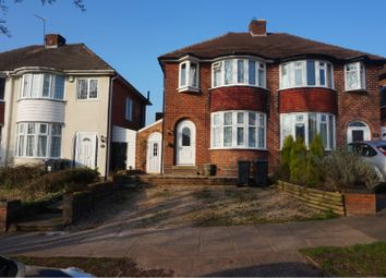Thumbnail 3 bed semi-detached house to rent in Durley Dean Road, Birmingham