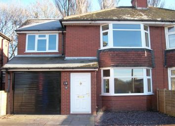 Thumbnail 3 bed semi-detached house to rent in Springfield Crescent, Longton, Stoke-On-Trent