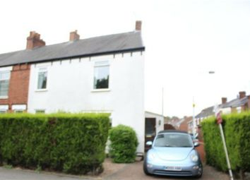 Thumbnail 3 bed end terrace house for sale in Old Road, Chesterfield, Derbyshire