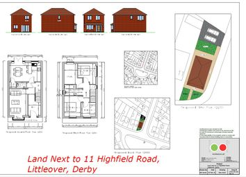 Thumbnail Land for sale in Highfield Road, Littleover, Derby