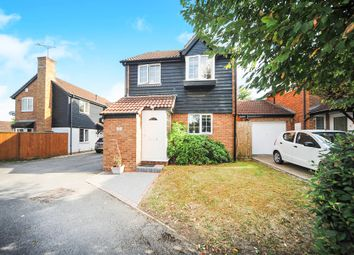 Thumbnail 3 bed detached house for sale in Ashie Close, Sparcells, Swindon