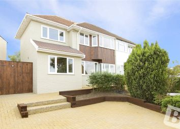 Thumbnail 4 bedroom semi-detached house for sale in Cruden Road, Gravesend, Kent