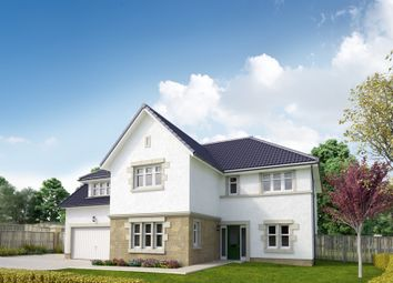"Thumbnail 5 bed detached house for sale in ""The Ramsay"" at Peel Road, Thorntonhall, Glasgow"