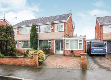 Thumbnail 3 bedroom semi-detached house for sale in Oulton Close, Prenton
