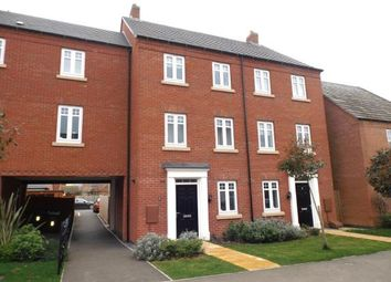 Thumbnail 4 bed terraced house for sale in Freshman Way, Market Harborough, Leicestershire