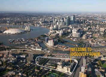 Thumbnail 1 bed flat for sale in Discovery Tower, Canning Town