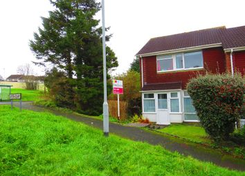 Thumbnail 3 bed end terrace house for sale in Ditton Court, Plymouth