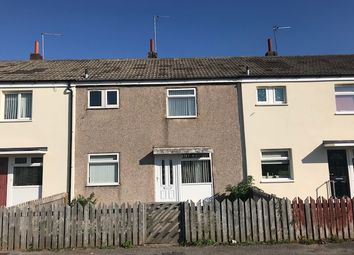 Thumbnail 3 bed terraced house to rent in Knightscourt, Hull
