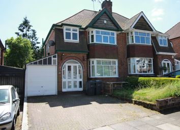 Thumbnail 3 bedroom semi-detached house to rent in Beverley Court Road, Quinton, Birmingham