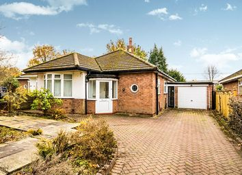 Thumbnail 2 bed bungalow for sale in Stanneylands Drive, Wilmslow