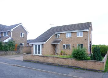 Thumbnail 5 bed detached house for sale in Brunswick Gardens, Corby
