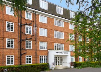 Thumbnail 1 bed flat to rent in Watchfield Court, Sutton Court Road, London