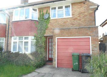 Thumbnail 3 bedroom property to rent in Ravenbank Road, Luton