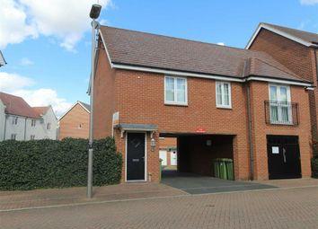 Thumbnail 2 bedroom detached house to rent in Lundy Walk, Newton Leys, Milton Keynes