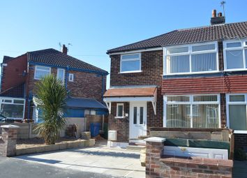 Thumbnail 3 bed semi-detached house to rent in Balmoral Grange, Prestwich, Manchester